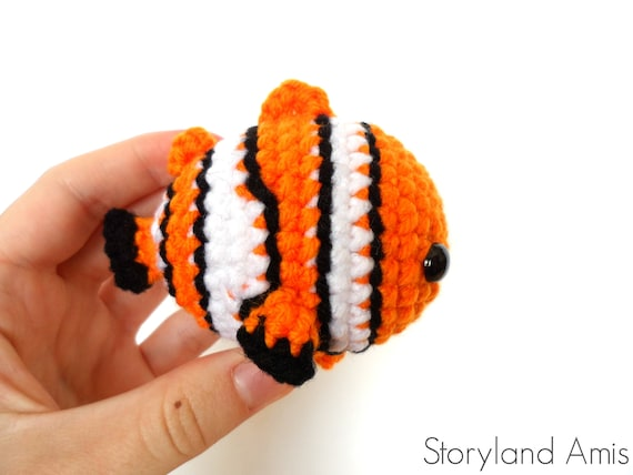 Dory Buscando A Nemo Amigurumi Tejido A Mano Crochet - $ 780,00 en ... | 427x570