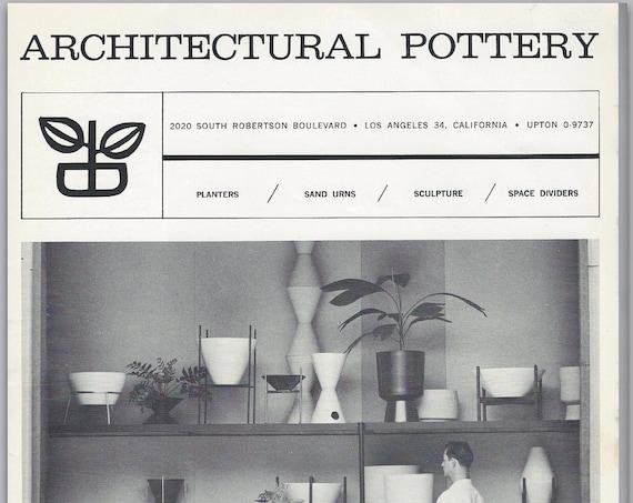 Architectural Pottery 1962 Catalog PDF.