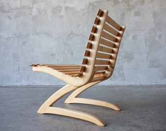 Stupendous Frank Lloyd Wright Henredon Lounge Chair Etsy Theyellowbook Wood Chair Design Ideas Theyellowbookinfo