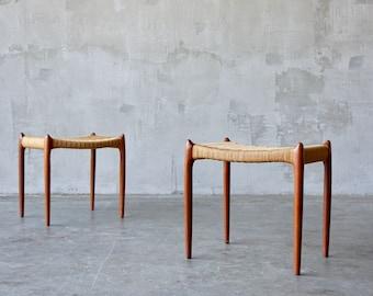 Tremendous Teak Stool Etsy Pdpeps Interior Chair Design Pdpepsorg