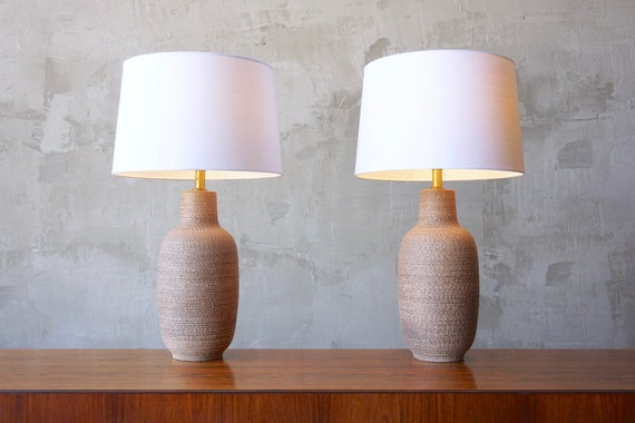 Design Technics Style Ceramic Lamps