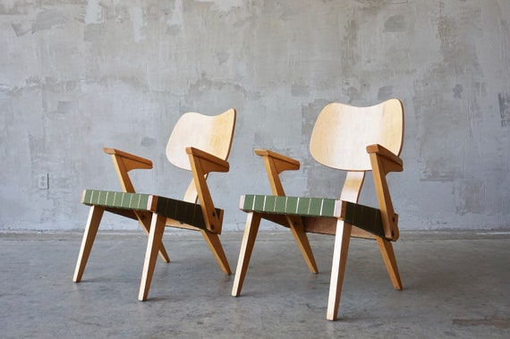 Russell Spanner Lounge Chairs.