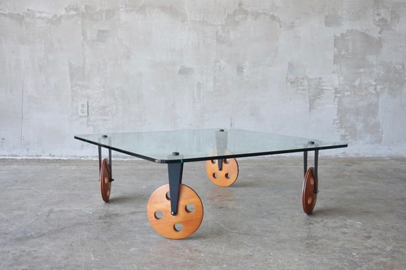 Gae Aulenti Style Coffee Table