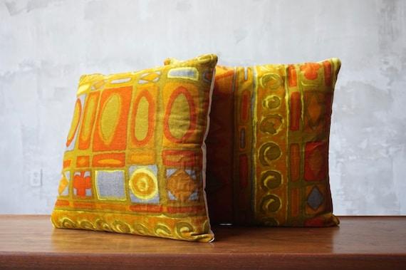 Jack Lenor Larsen 'Primavera' Pillows