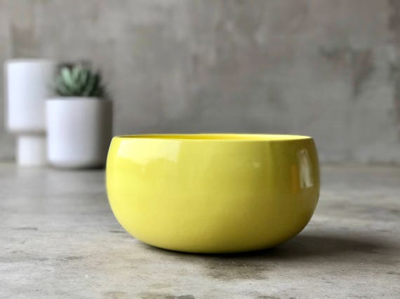 Architectural Pottery Bowl.