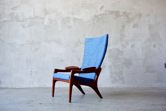 Adrian Pearsall Wingback Lounge Chair