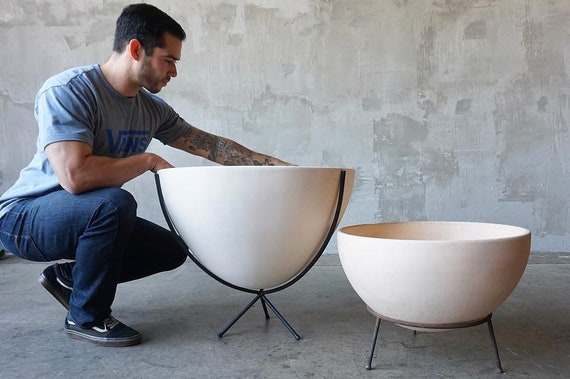 Massive John Follis Architectural Pottery Bowl
