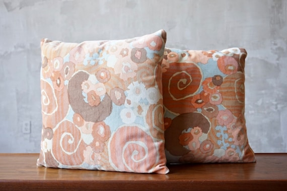 Jack Lenor Larsen 'Primavera' Pillows