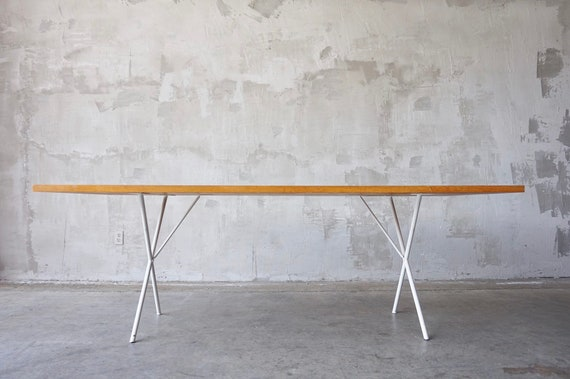 George Nelson X-Base Dining Table
