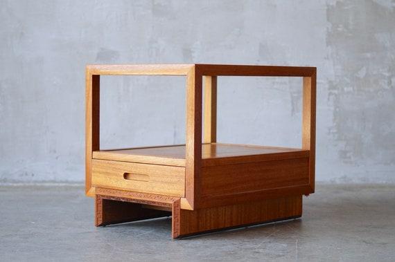 Frank Lloyd Wright End Table