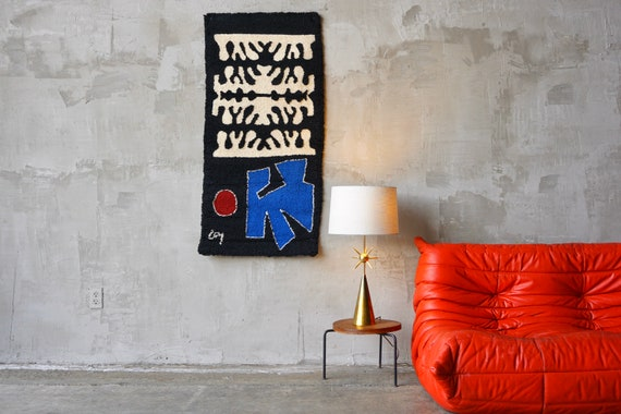 Vintage Abstract Tapestry