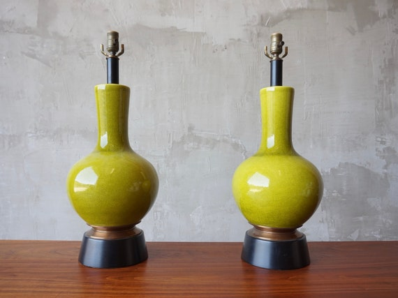 Paul Laszlo Ceramic Lamps