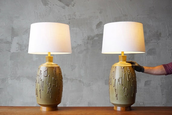 David Cressey Ceramic Lamps