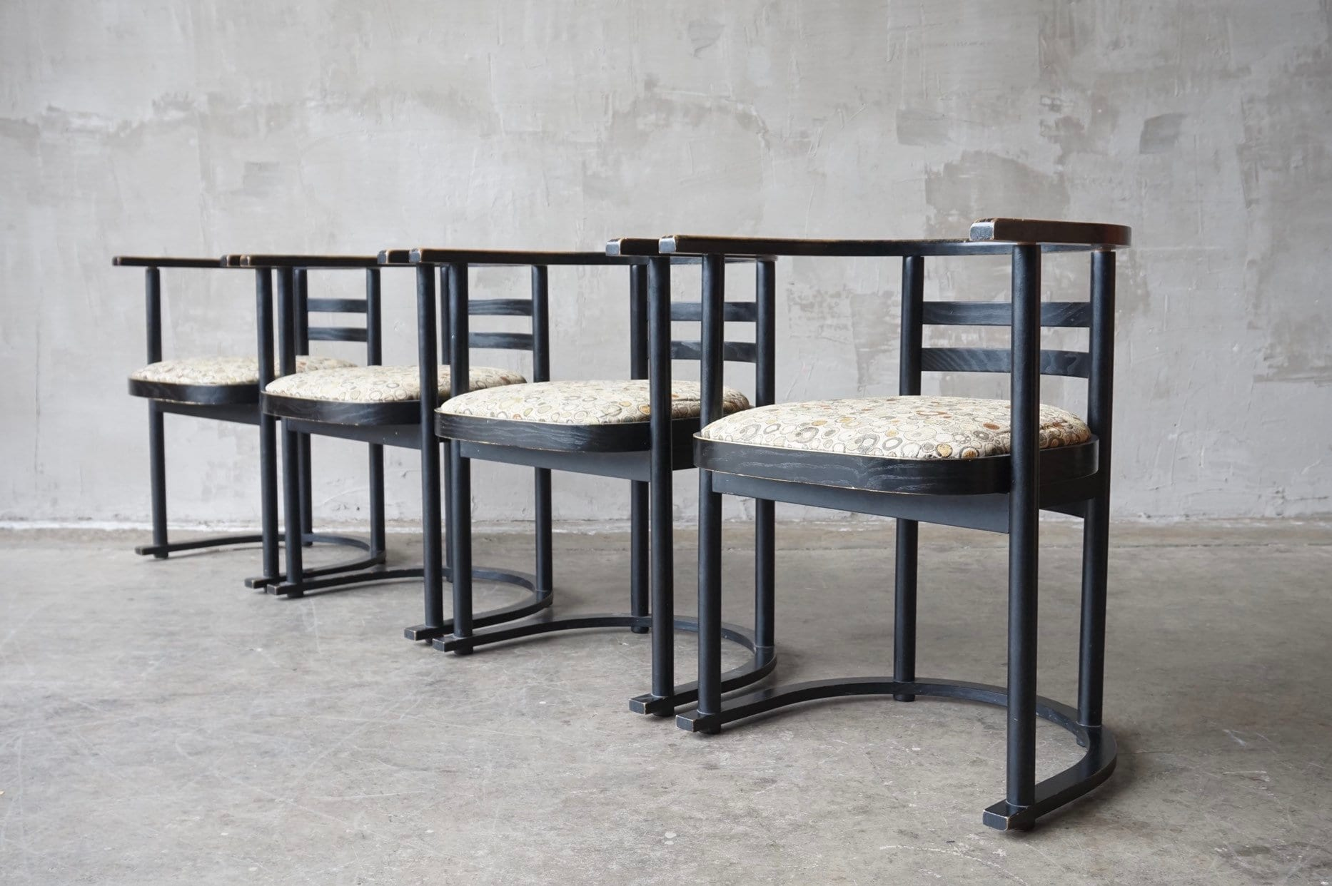 Awe Inspiring Josef Hoffmann Fledermaus Style Chairs Download Free Architecture Designs Rallybritishbridgeorg