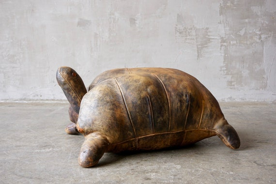 Large Abercrombie & Fitch Leather Turtle