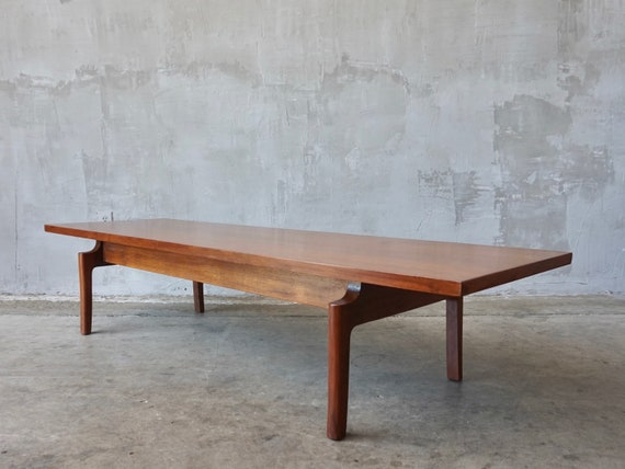 Jens Risom Styled Coffee Table