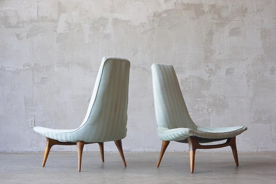 Karpen Of California Sculptural Chairs