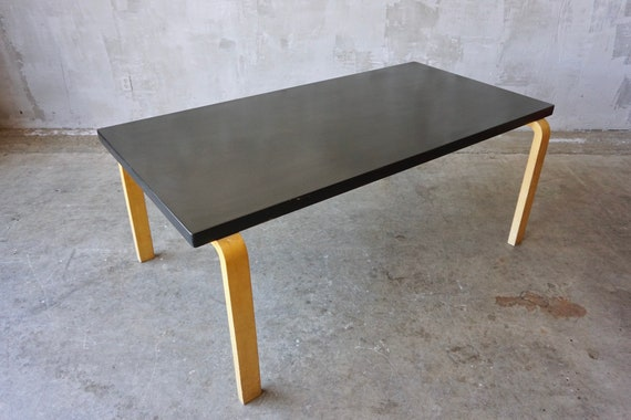Alvar Aalto Lacquered no. 83 Dining Table