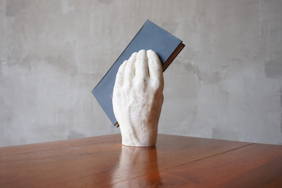 Richard Etts Plaster Hand Sculpture