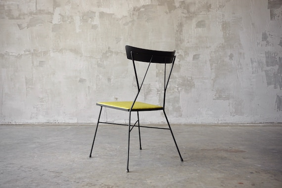 Rare Paul McCobb Iron Chair