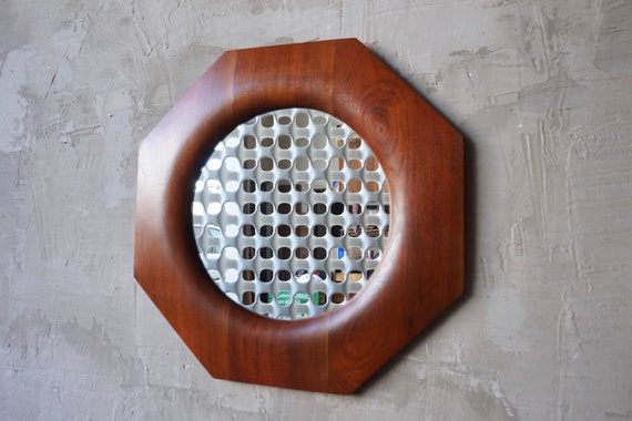 Studio Crafted Walnut Mirror