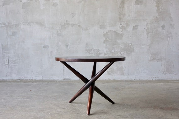 T.H. Robsjohn Gibbings X-Base Side Table