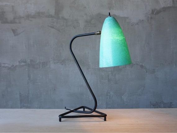 Iron & Fiberglass Lamp.