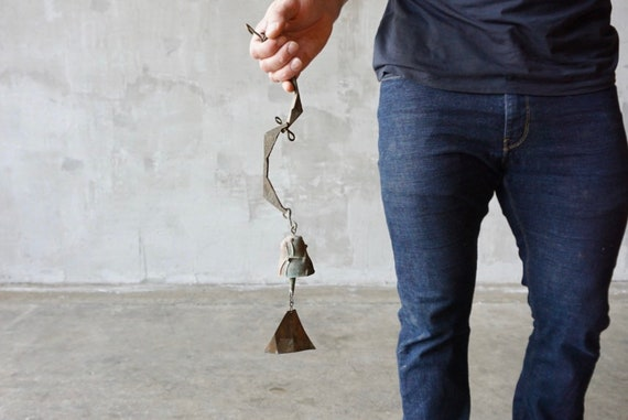 Miniature Paolo Soleri Bronze Bell.