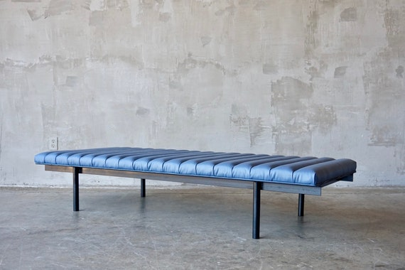 Iron & Leather Daybed