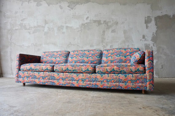 Jack Lenor Larsen Style Sofa