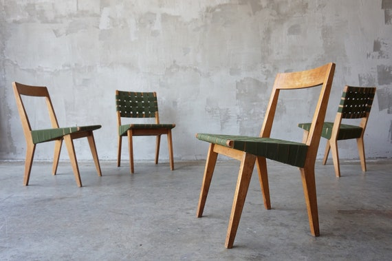 Jens Risom '666' Chairs.