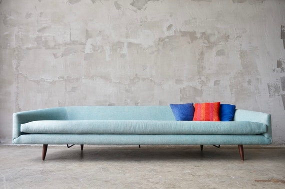 Rare Adrian Pearsall 'Cloud' Sofa