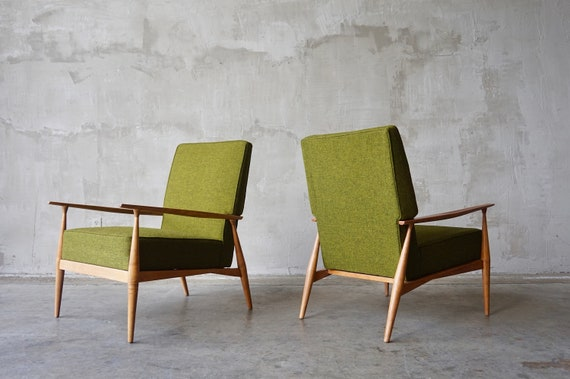 Pair of Paul McCobb Lounge Chairs
