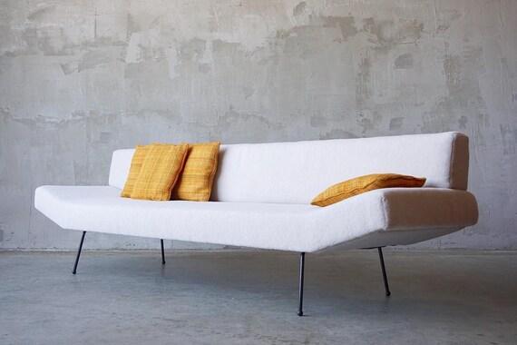 Rare Adrian Pearsall Iron Sofa