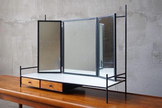 Paul McCobb Triple-Mirrored Vanity