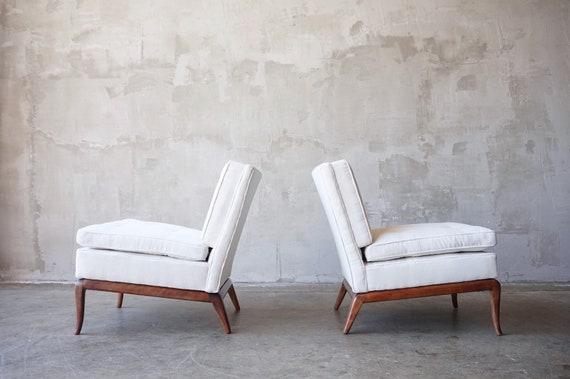 Robsjohn Gibbings Slipper Chairs