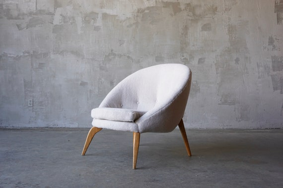Jean Royere Style Lounge Chair
