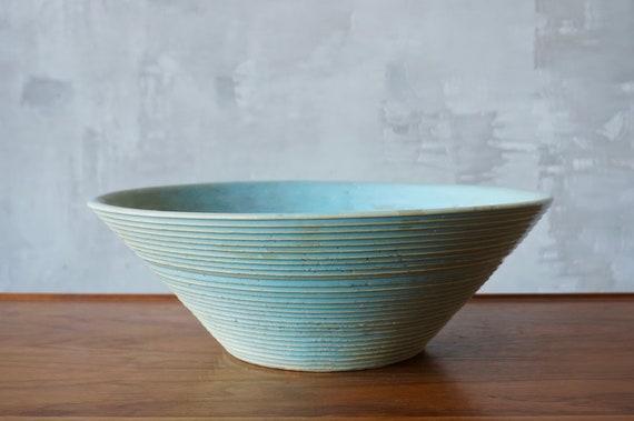 Zanesville 'Stoneage Modern' Bowl.