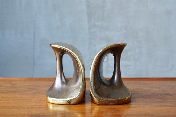 Ben Seibel Brass Bookends