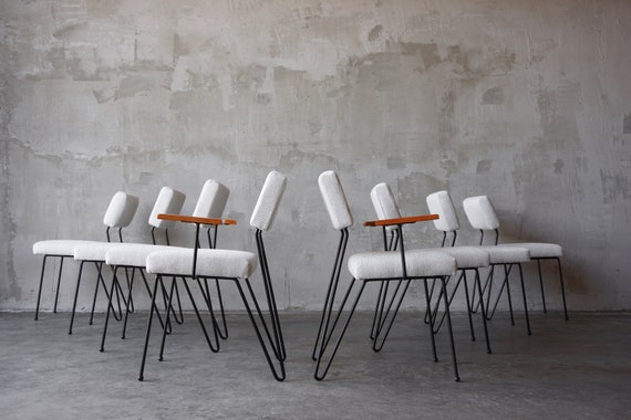 Set of 8 Dorothy Schindele Styled Dining Chairs
