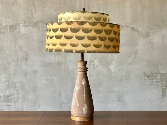 Sculptural Ceramic Lamp.
