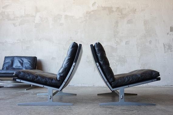Preben Fabricius & Jørgen Kastholm Lounge Chairs