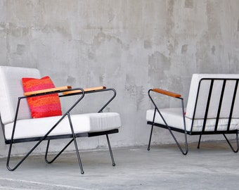 Made to Order Modernist Lounge Chairs