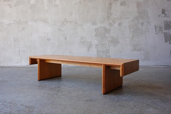 Frank Lloyd Wright Henredon Coffee Table.