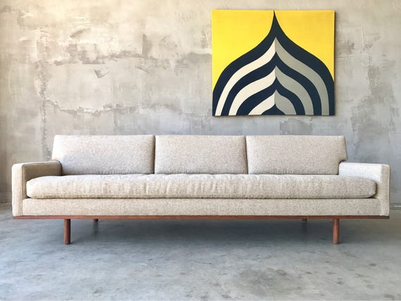 1960s Metropolitan Sofa + Chair.