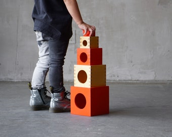 Creative Playthings Nesting Cubes.