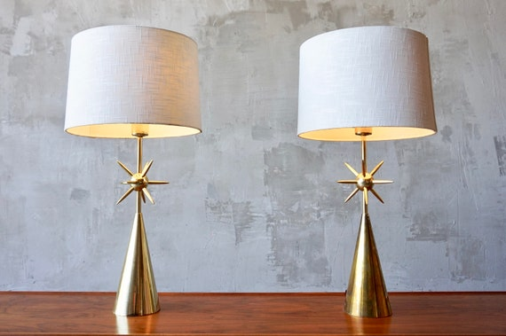 Pair of Laurel 'Sputnik' Lamps