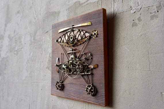 Brazed Mid Century Wall Art