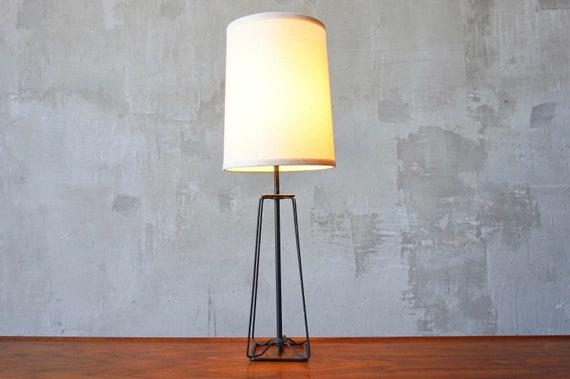 1950s Iron Lamp.