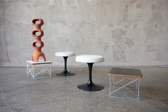 Early Eero Saarinen 'Tulip' Stools